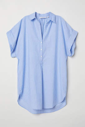 H&M Cotton Tunic - Blue