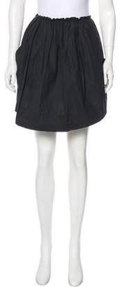 Hache Full Mini Skirt