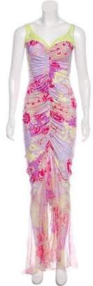 Ungaro Printed Maxi Dress