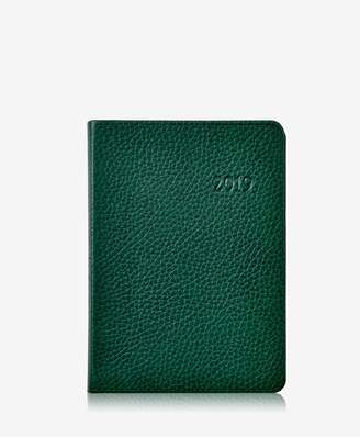 GiGi New York 2019 Notebook In Pine Pebble Grain