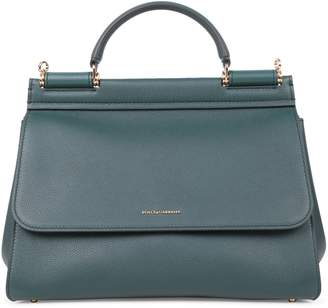 Dolce & Gabbana Green Sicily Soft Bag