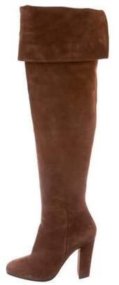 Giuseppe Zanotti Suede Over-The-Knee Boots Suede Over-The-Knee Boots
