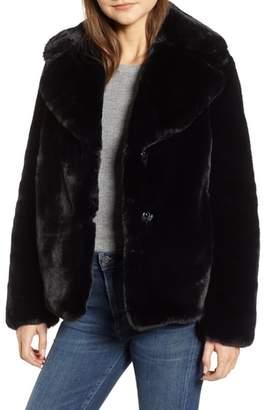 Kensie Faux Fur Chubby Coat