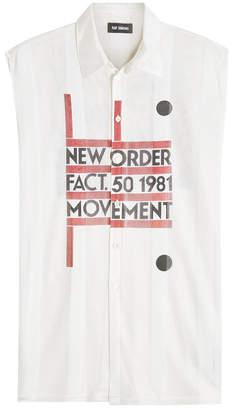 Raf Simons Sleveless Jersey Shirt