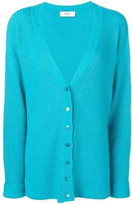 Blugirl oversized ribbed knit cardigan