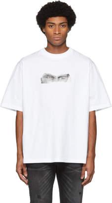 Marcelo Burlon County of Milan White Muhammed Ali Edition Series All Eyes T-Shirt