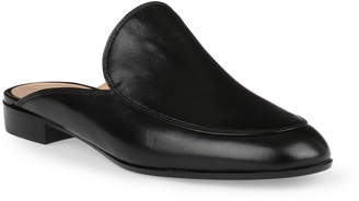 Gianvito Rossi Palau black leather loafer