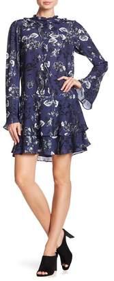 Parker Long Sleeve Floral Dress