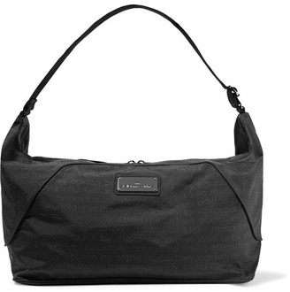 Adidas by Stella McCartney - Faux Leather-trimmed Printed Shell Bag - Black $135 thestylecure.com