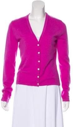 Michael Kors Cashmere Button-Up Cardigan