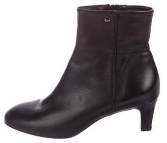 AGL Leather Round-Toe Boots