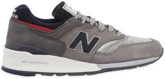 New Balance Woolrich 997 Nubuck & Wool Sneakers