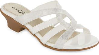 East Fifth east 5th Elisha Womens Slide Sandals