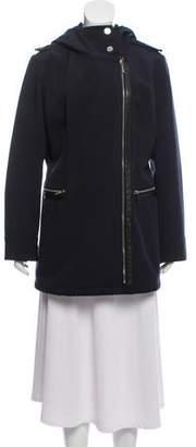 MICHAEL Michael Kors Hooded Short Coat