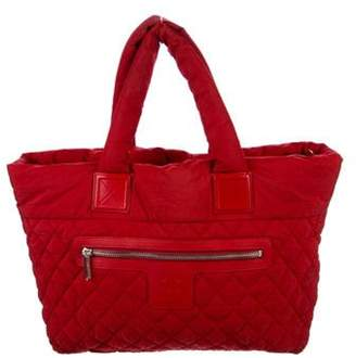 Chanel Large Coco Cocoon Tote Red Large Coco Cocoon Tote