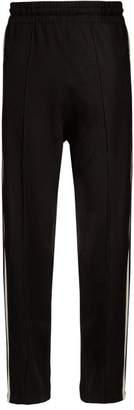 Etoile Isabel Marant Docia Striped Jersey Track Pants - Womens - Black