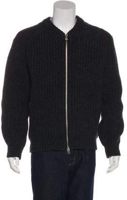 Our Legacy Wool Zip-Up Sweater