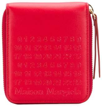 Maison Margiela Signature-number wallet