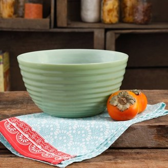 """The Pioneer Woman Timeless Beauty 10"""" Ribbed Glass Bowl"""