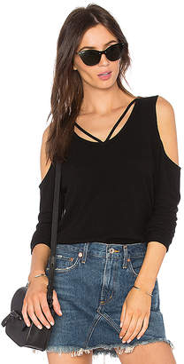 LnA Brushed Strapped Sweater