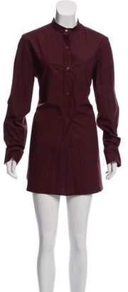 Marni Poplin Button-Up Dress w/ Tags