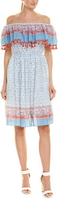 Stellah Off-The-Shoulder Sundress
