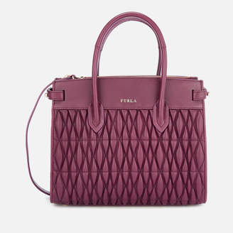 Furla Women's Pin Cometa Small Tote Bag - Purple