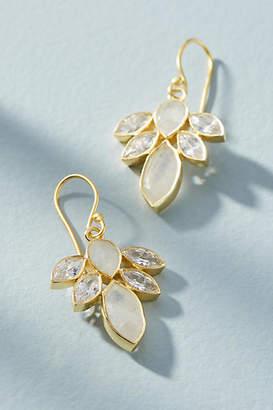 Kanupriya Lotus Burst Drop Earrings