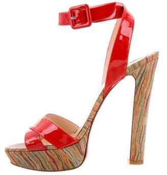 Christian Louboutin Glory Platform Sandals