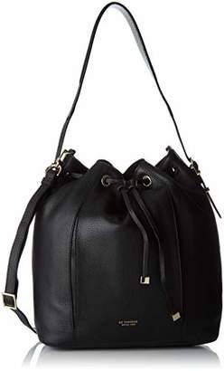Le Tanneur Women's TAK1300 Shoulder Bag Black