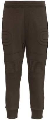 Neil Barrett biker cropped sweatpants