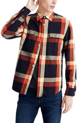 Madewell Buffalo Plaid Twill Shirt