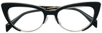 Moschino cat eye glasses