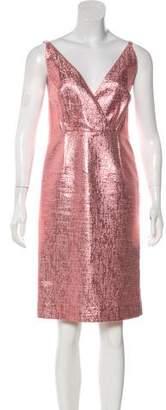 Tome Metallic Sheath Dress