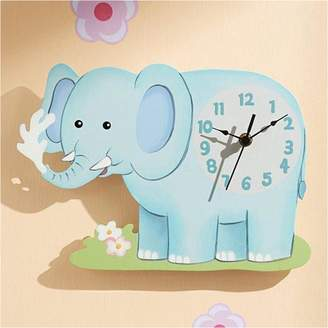 Fantasy Fields By Teamson Fantasy Fields by Teamson Sunny Safari Elephant Wall Clock