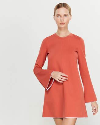 Liviana Conti Bell Sleeve Ponte Shift Dress
