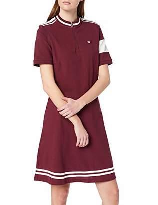 5d2d354b1c85 G Star Women's Cergy Zip Slim Dress, Blue (sartho blue/milk 6377)