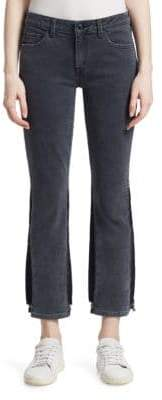 Derek Lam 10 Crosby Gia Cropped Flare Jeans