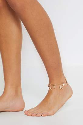 Nasty Gal Good as Gold Dainty Anklet