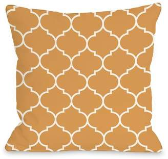 Charlton Home East Village Repeating Moroccan Outdoor Throw Pillow