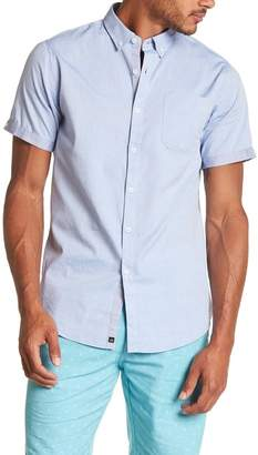 Micros Cuffed Sleeve Classic Fit Shirt