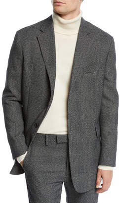 Calvin Klein Men's Glen Plaid Wool Jacket