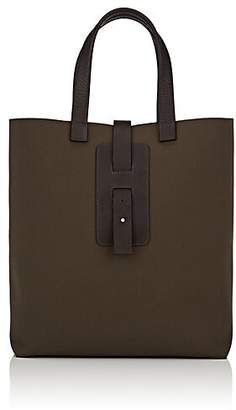 GREY NEW YORK GREY NEW ENGLAND Men s Panama Canvas   Leather Tote Bag -  Green 4e720c26e276e