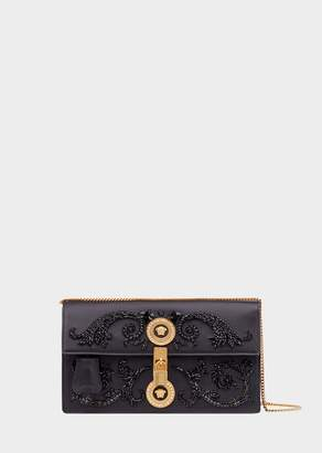Versace Embroidered Icon Clutch