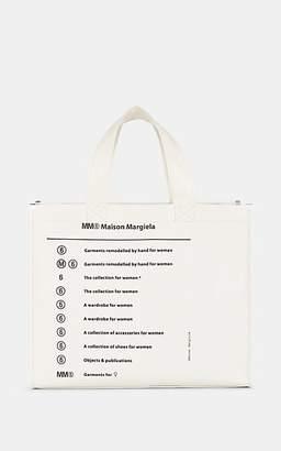 MM6 MAISON MARGIELA Women's Medium PVC Tote Bag - White