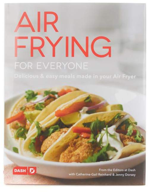 "Dash Kitchen DASH ""Air Frying For Everyone"" Cookbook"