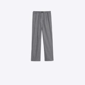 Balenciaga Checked soft cotton pants