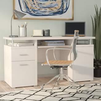 Brayden Studio Thaxted 2 Drawer Computer Desk
