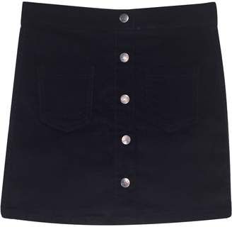 Preview Girl's Snap-Front Corduroy Skirt