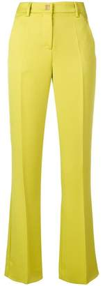 Versace flared slim trousers